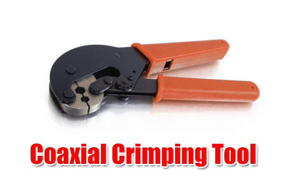 Professional Coaxial Crimping Tool