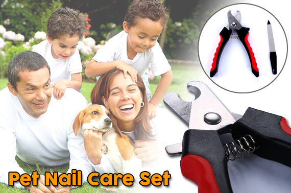 Pet Nail Clipper & Nail File Set - Small