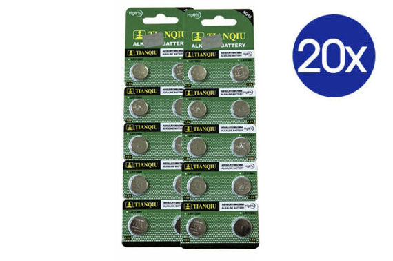 20X LR1130 Battery (AG10/390)1.5V Alkaline Batteries