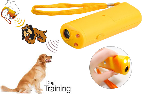 Ultra-sonic Dog Training Device with LED Light