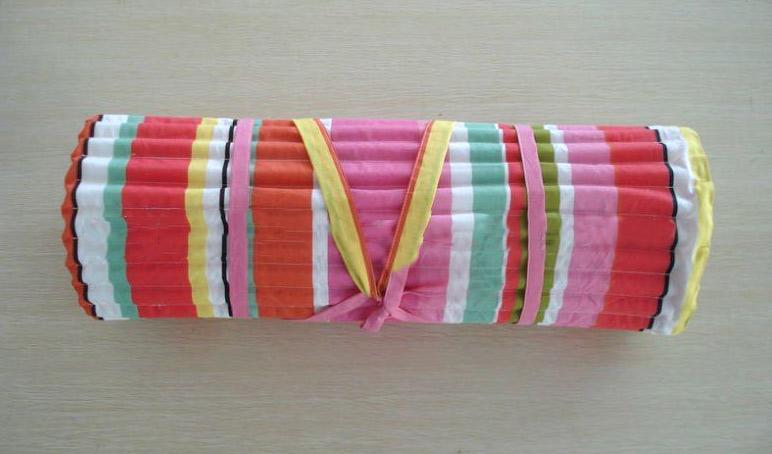 Foam Padding Roll >> Padded Roll Up Beach Mat