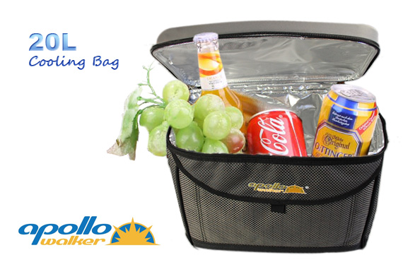 Super Deal: QUALITY Apollo Walker 20L Thermal Cooler Bag with Cup Holders