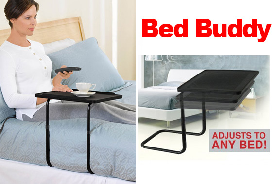 BedBuddy - The Ultimate Height Adjustable Bed Side Table