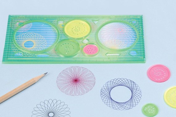 Spiral Tools - Spirograph Rulers