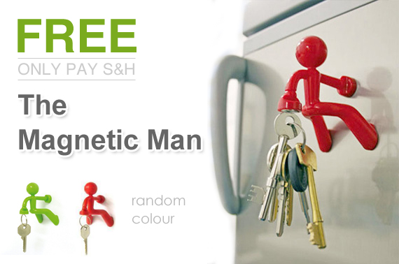 The Magnetic Man - Let Me Hold Your Keys for You!