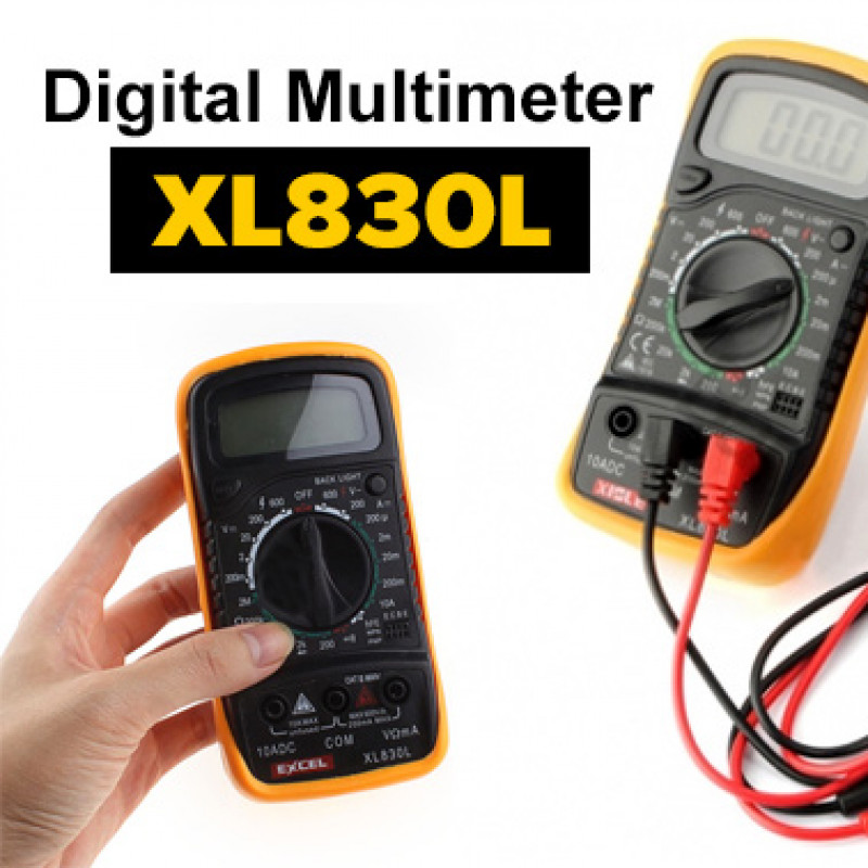 Palm-Size LCD Digital Multimeter XL830L