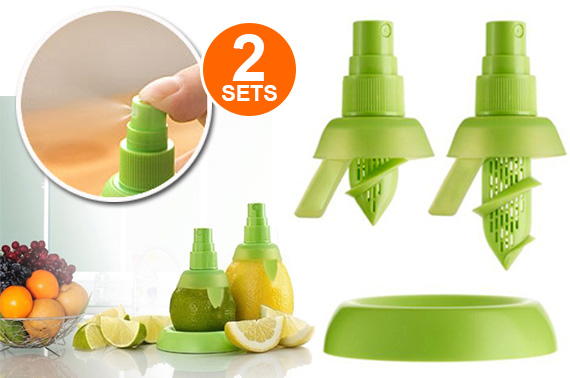 2x 3 Pieces Mini Juice Sprayer