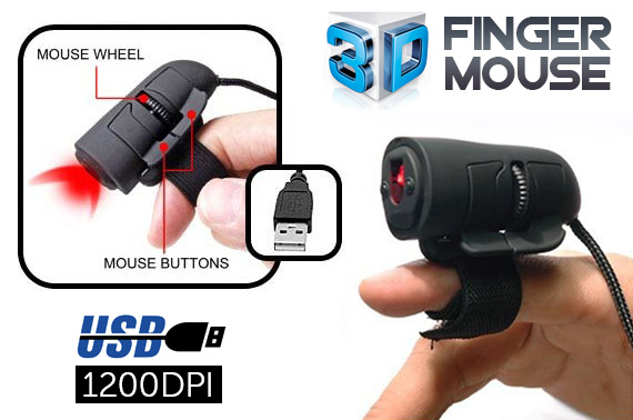 USB 3D Optical Finger Mouse