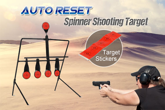 Auto Reset Spinner Shooting Target