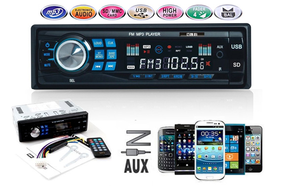 Car In Dash MP3 Player & FM/USB/SD/AUX Receiver