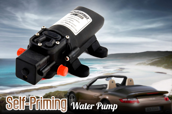 12V 1.07Lpm Self-Priming Water Pump