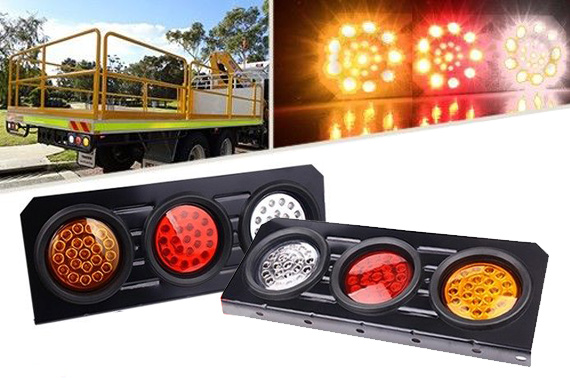 2x 12V Truck LED Tail Indicator Lights