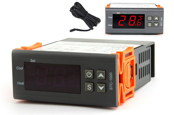 All-purpose LCD Digital Temperature Controller with Thermostat Sensor STC-1000