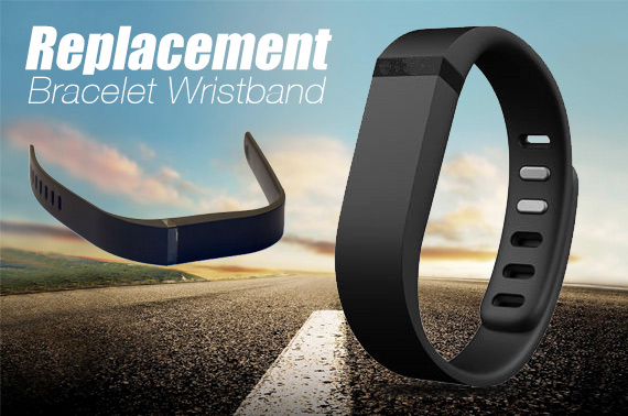 Wireless Bracelet Large Replacement Band for Fitbit Flex