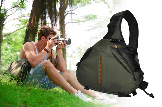 Waterproof DSLR Camera Shoulder Carry Bag