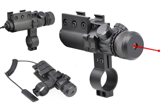 Tactical Red Laser Sight for Rifles