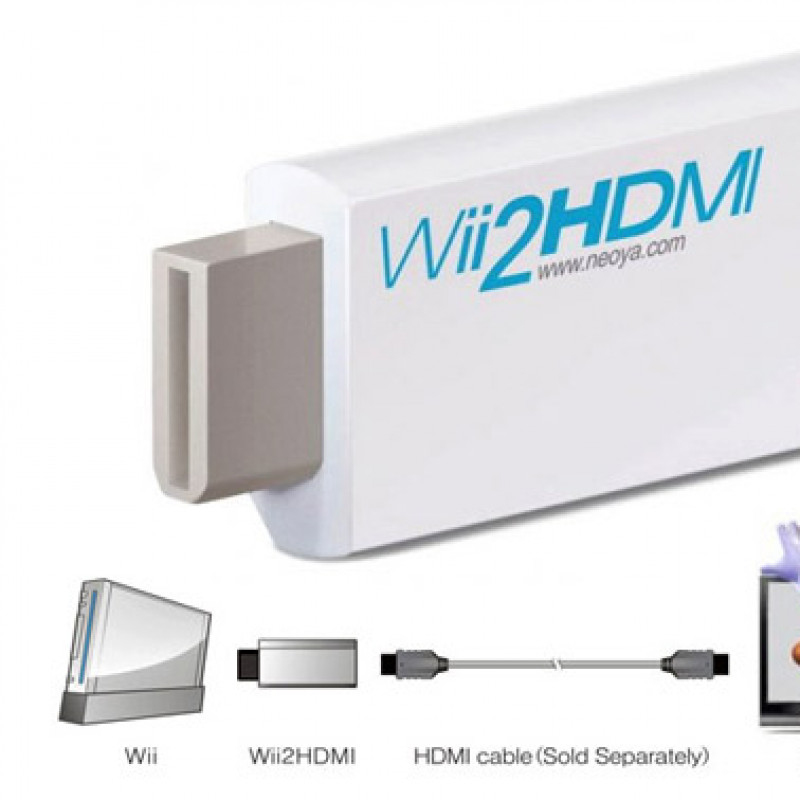 Wii To HDMI 720P/1080P Upscaling Converter