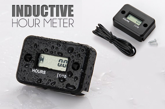 Waterproof Inductive Hour Meter