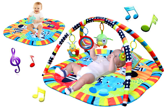 Happy Birds Newborn Baby Play Mat