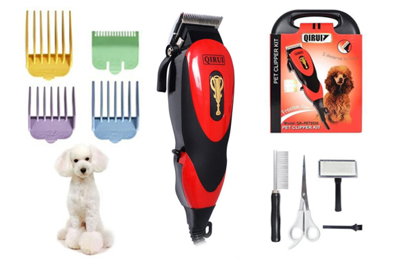 Professional Electric Pet Grooming Kit