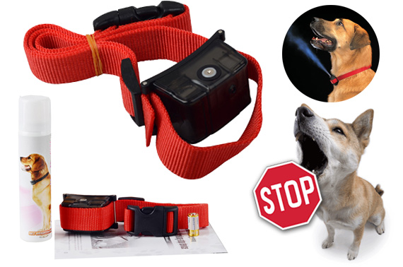 Automatic Humane Citronella Anti Bark Training Spray Collar