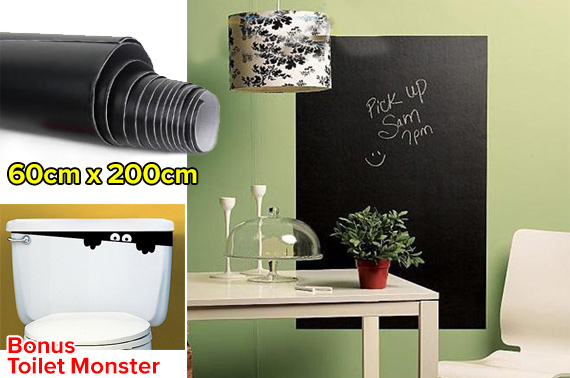 Large Removable Blackboard Wall Sticker