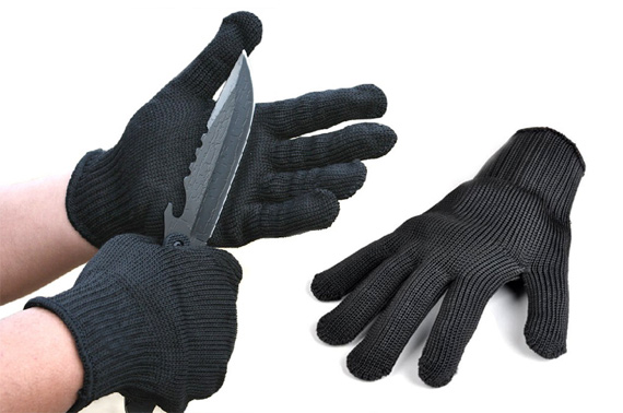 Stainless Steel Wire Cut Resistant Gloves (1 Pair)