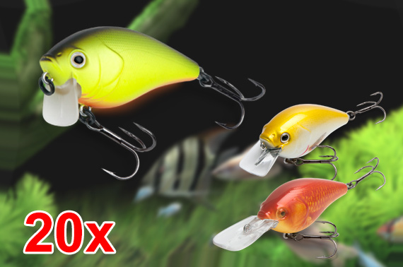 20x Crankbait Fishing Lures