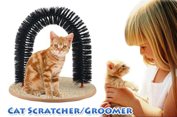 Perfect Arched Cat Scratcher/Groomer