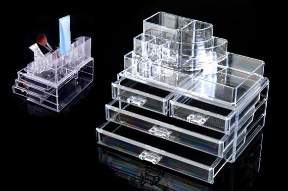 4 Drawer Cosmetic & Jewelery Holder Organizer