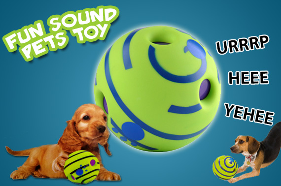 Giggle Ball Fun Sound Toy for Dogs