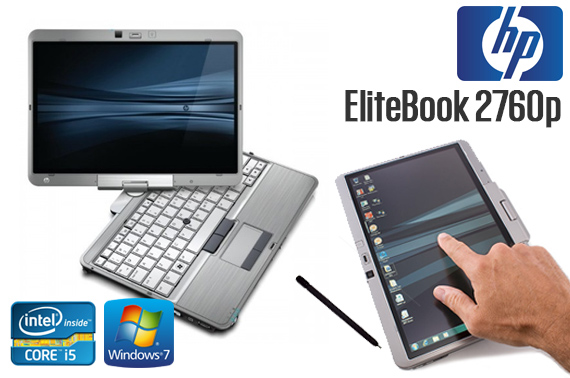 Ex-Leased HP EliteBook 2760p Convertible Tablet