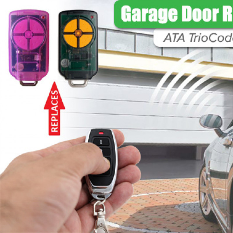 ATA PTX5 TRIOCODE Garage Door Remote Control Replacement