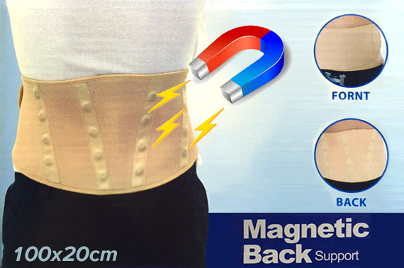 Magnetic Large Back & Waist Support Belt
