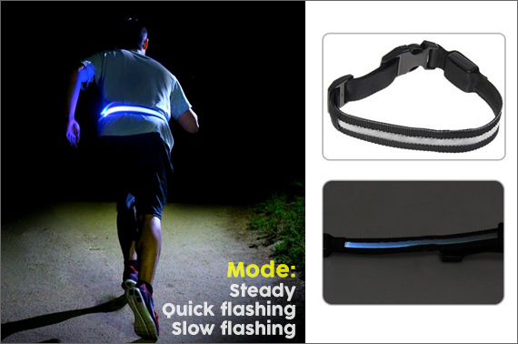 LED Waist Belt - High Visibility At Night