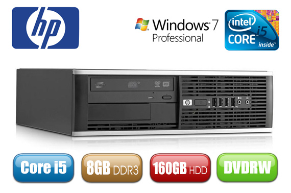 Ex-Leased HP 6200 Pro SFF Desktop PC