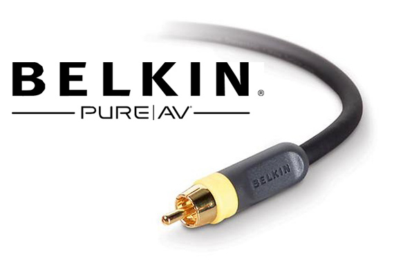 Belkin PureAV Composite Video Cable 1.8m