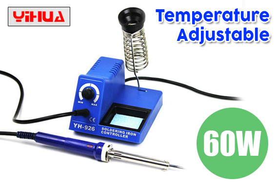 Temperature Adjustable Electric Soldering Iron Station 60W YIHUA 926