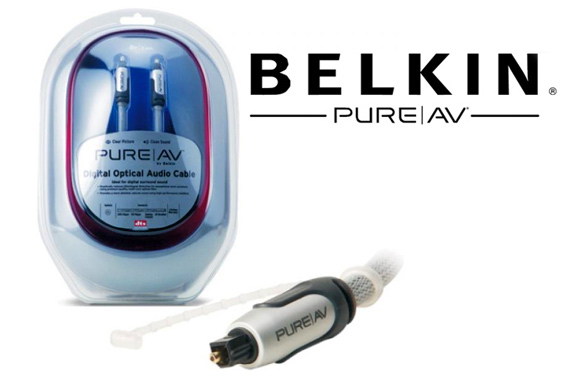 Belkin PureAV Digital Optical Audio Cable 1.2m