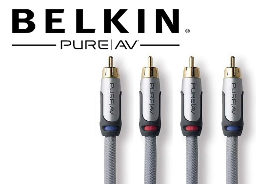 Belkin PureAV RCA Audio Cable 1.2m