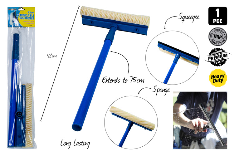Extendable Squeegee - Extends 75cm