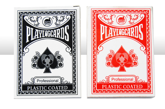 2 Decks Plastic Coated Poker Playing Cards