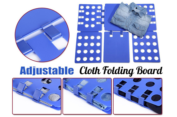 Adjustable Clothes Flip Fold Folding Board