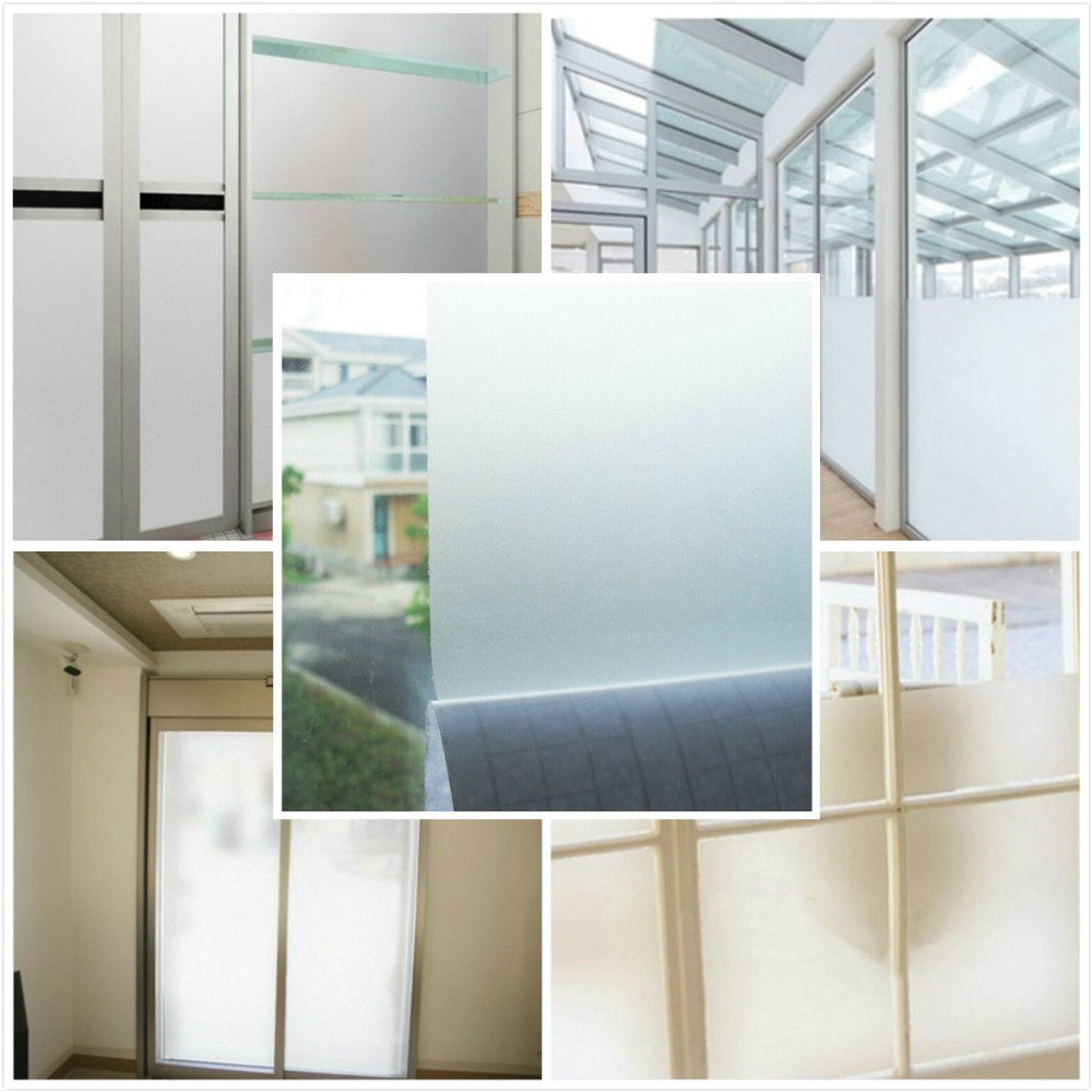 90cm*5m Sand Blast Clear Privacy Frosted Frosting Windows Glass Film ...