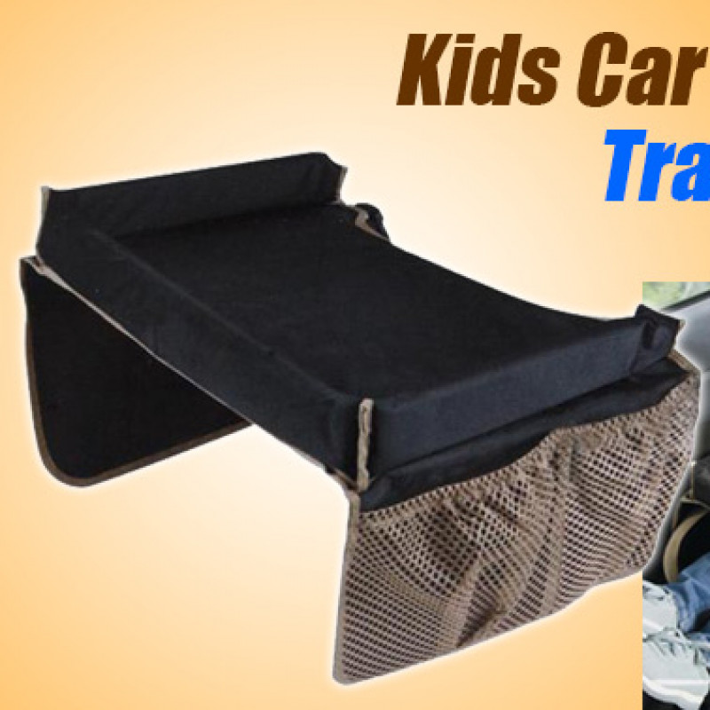 Portable Safety Kids Car Seat Travel Tray