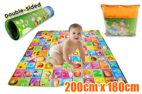 Large Waterproof Double-Sided Baby Play Mat