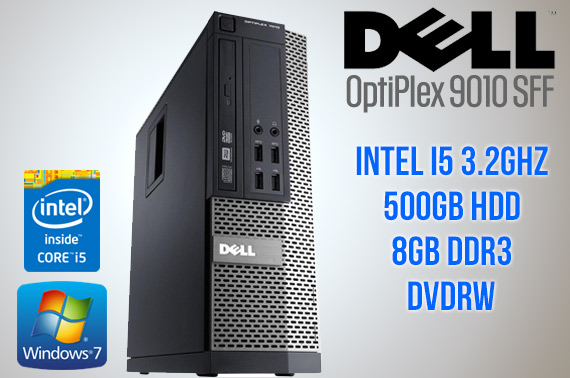 Ex-Lease Dell OptiPlex 9010 SFF (Small Form Factor) Desktop PC