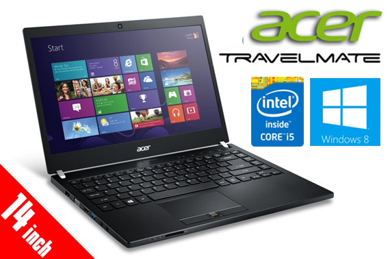 Ex-lease Acer TravelMate P645 14-inch Notebook