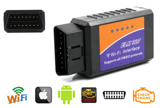 ELM327 OBDII WiFi Car Diagnostic Wireless Scanner