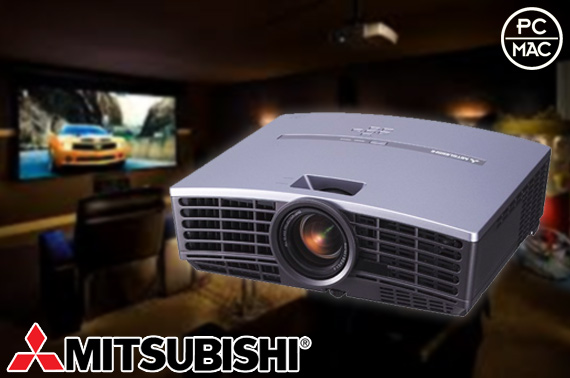 Ex-leased Mitsubishi XD490u Ultraportable Projector